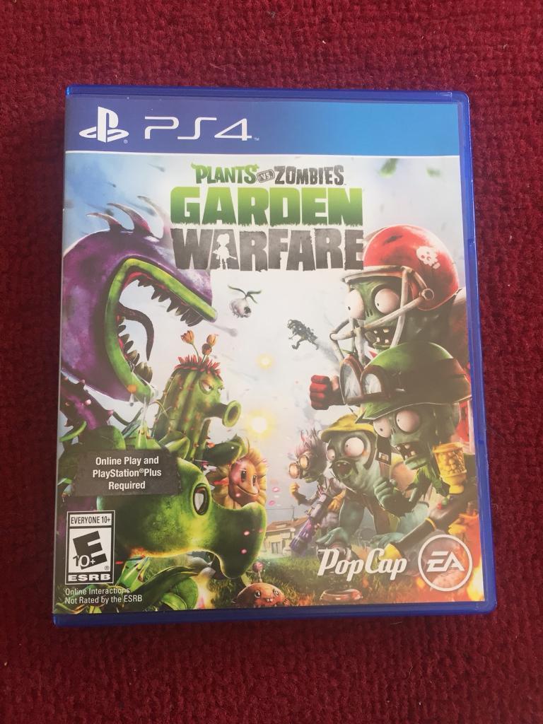 Plants Vs Zombies Garden Warfare PS4 Edition