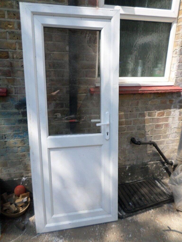 SMALL WHITE UPVC DOUBLE GLAZED DOOR & SMALL WHITE UPVC DOUBLE GLAZED DOOR   in Croydon London   Gumtree