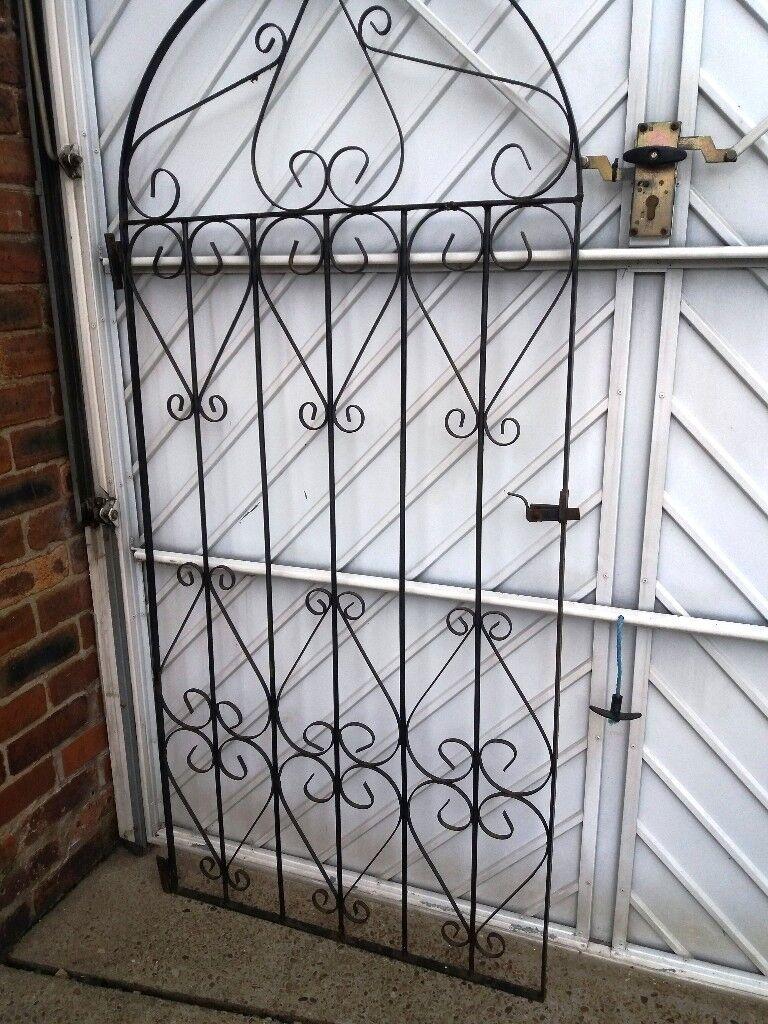 Decorative Wrought Iron Garden Gate