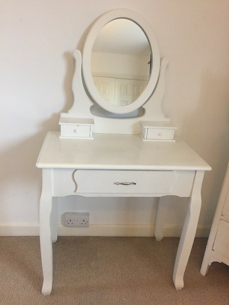 Small White Dressing Table