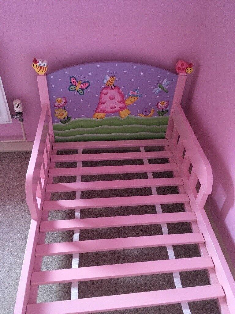 Bon Teamson Magic Garden Toddler Bed.