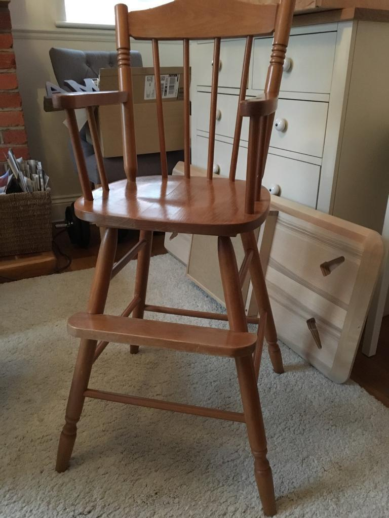 Pine High Chair. Kids High Chair. & Pine High Chair. Kids High Chair. | in Winchester Hampshire | Gumtree