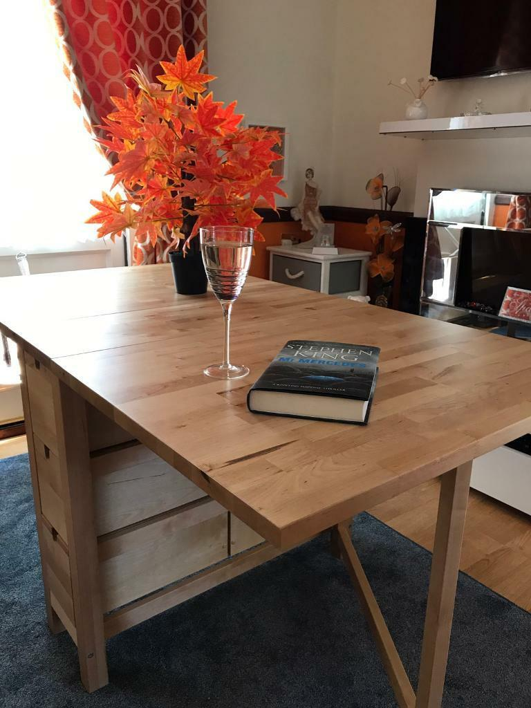 Ikea Norden Birch Gateleg Table