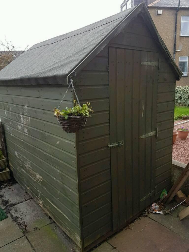 5x7 Garden Shed