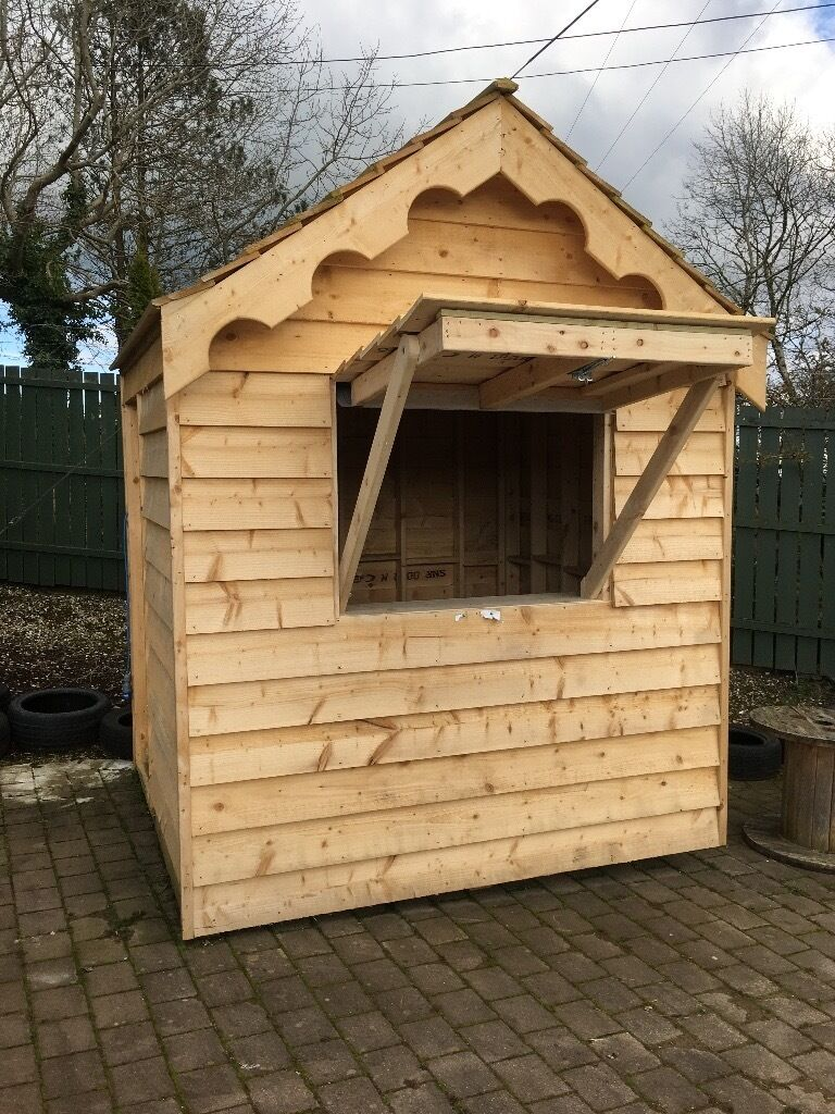 Bar/tuck Shop Shed Also Suitable Garden Shed
