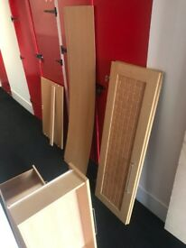 pine wardrobe with draws a1 condition i can deliver free if local