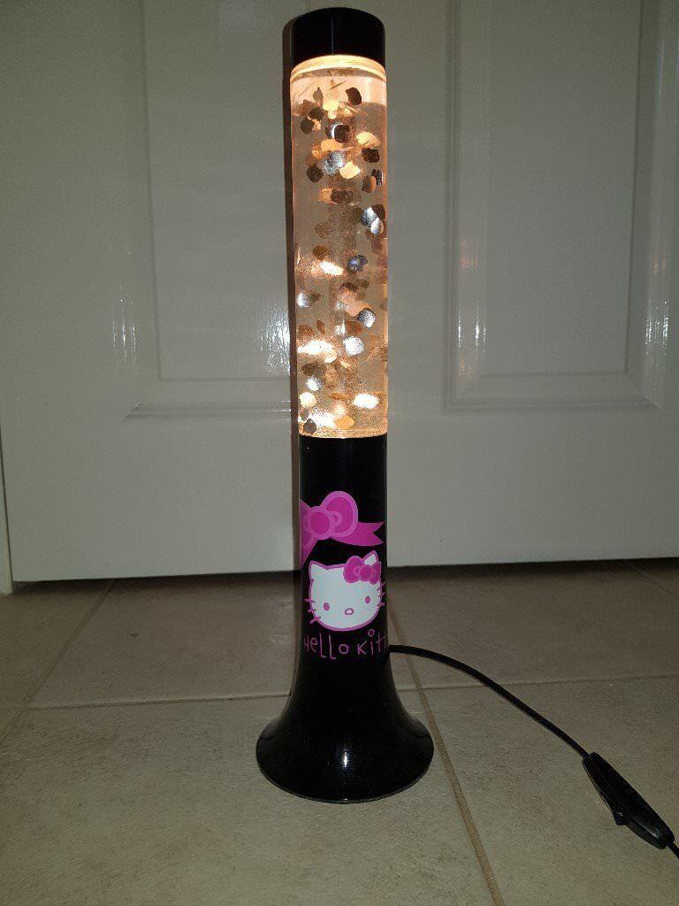 Hello Kitty Glitter Lava Lamp