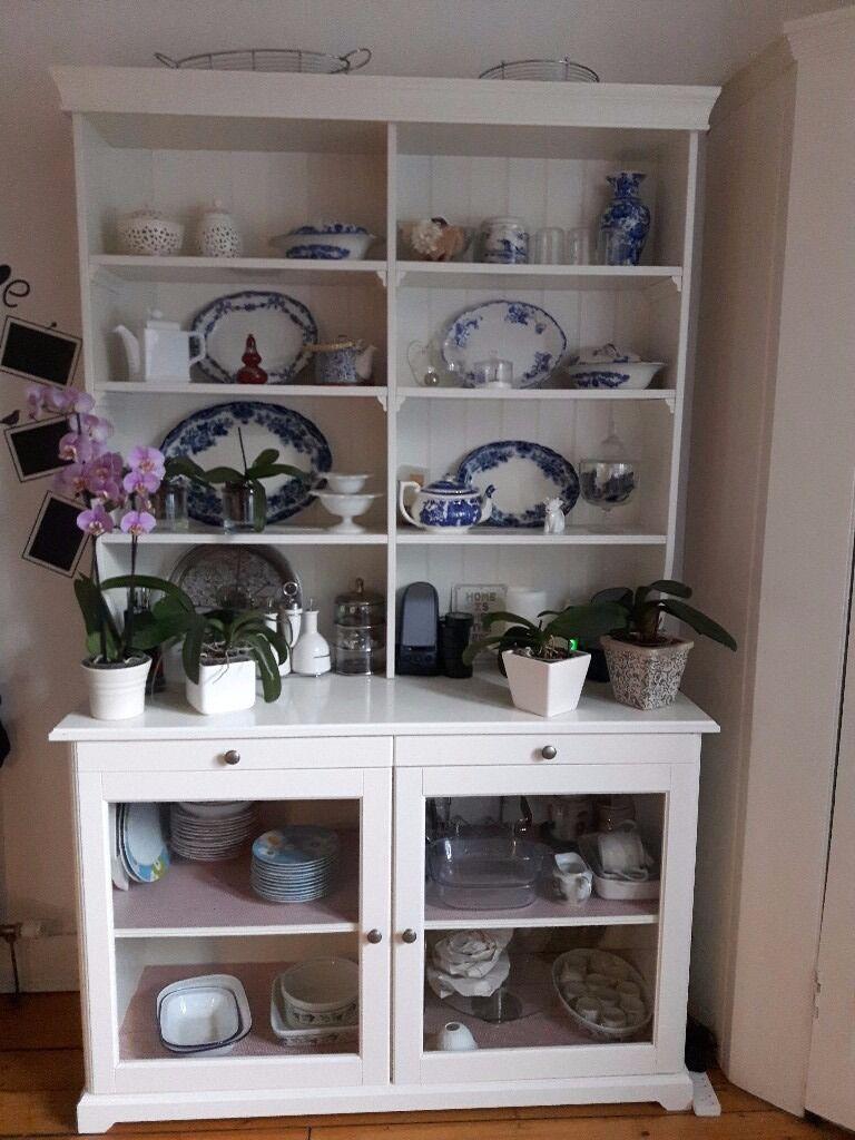 ikea liatorp white kitchen dresser