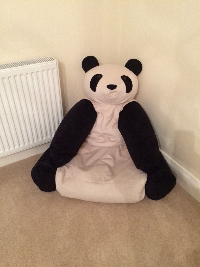 Incroyable Panda Bear Chair Bean Bag Large Size Excellent Condition   £35 ONO