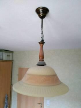 Mediterrane Deckenlampe Glas Pastell Deckenleuchte Lampe Leuchte In  Langenselbold