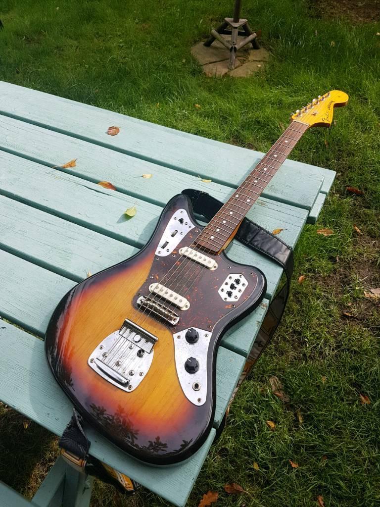 1996 Japanese Fender Jaguar Guitar W/The Creamery Custom Pickups