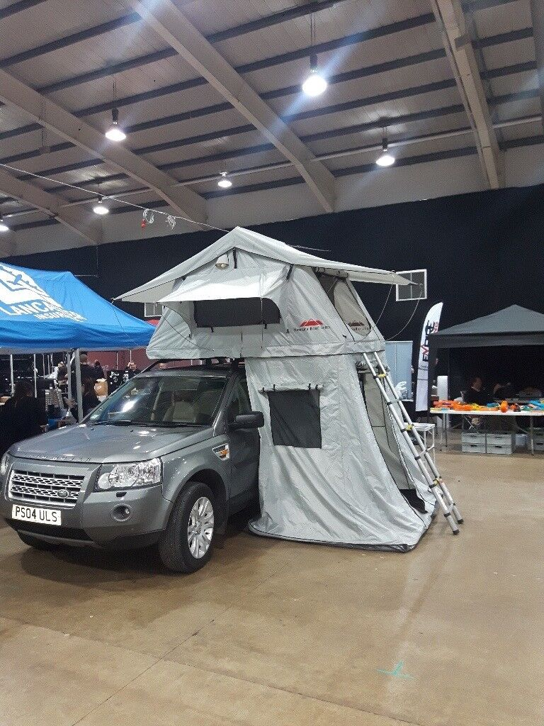 Ventura Deluxe 1.4 Roof Top Tent 3 Person C&ing Expedition Overland 4x4 Car VW Discovery RRP£1600 & Ventura Deluxe 1.4 Roof Top Tent 3 Person Camping Expedition ...