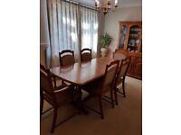 Jentique Oak Dining Room Furniture