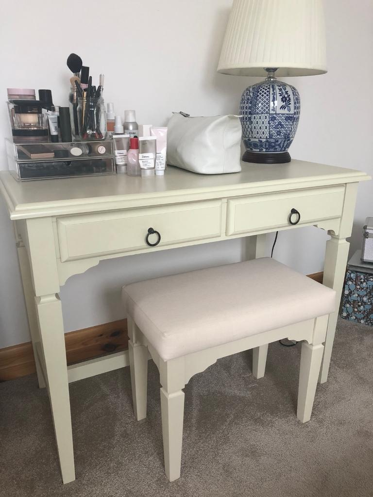 Superbe Next Home French Dressing Table With Stool