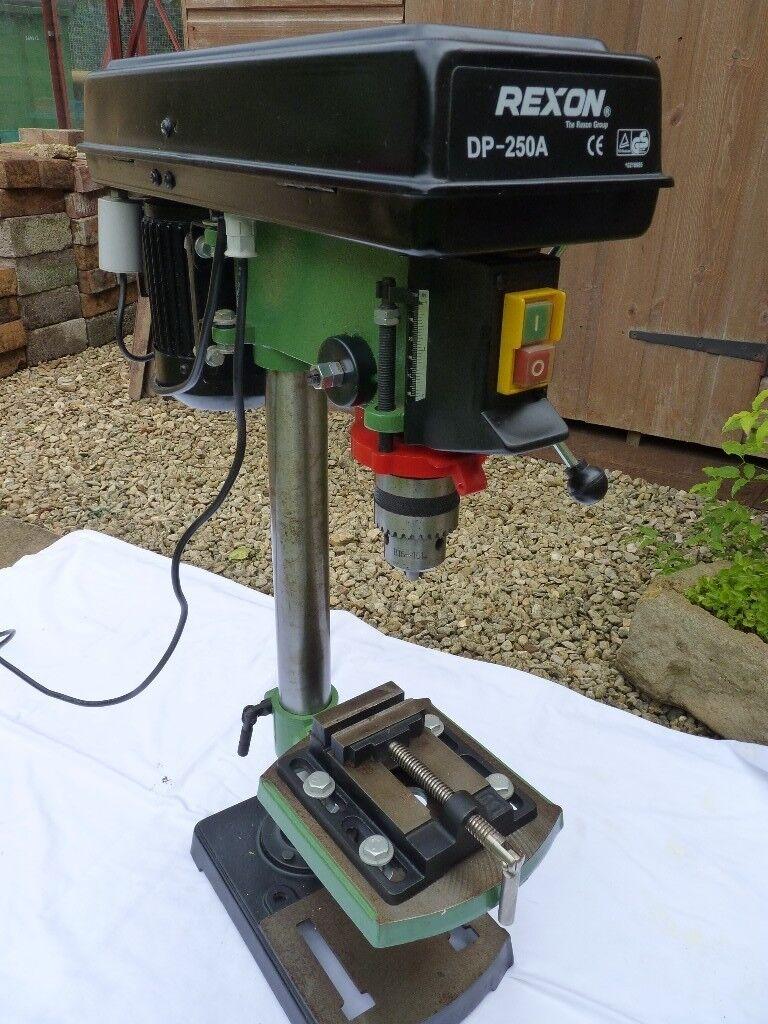 Bench Pillar Drill Part - 48: Rexon DP250A Bench Top Pillar Drill