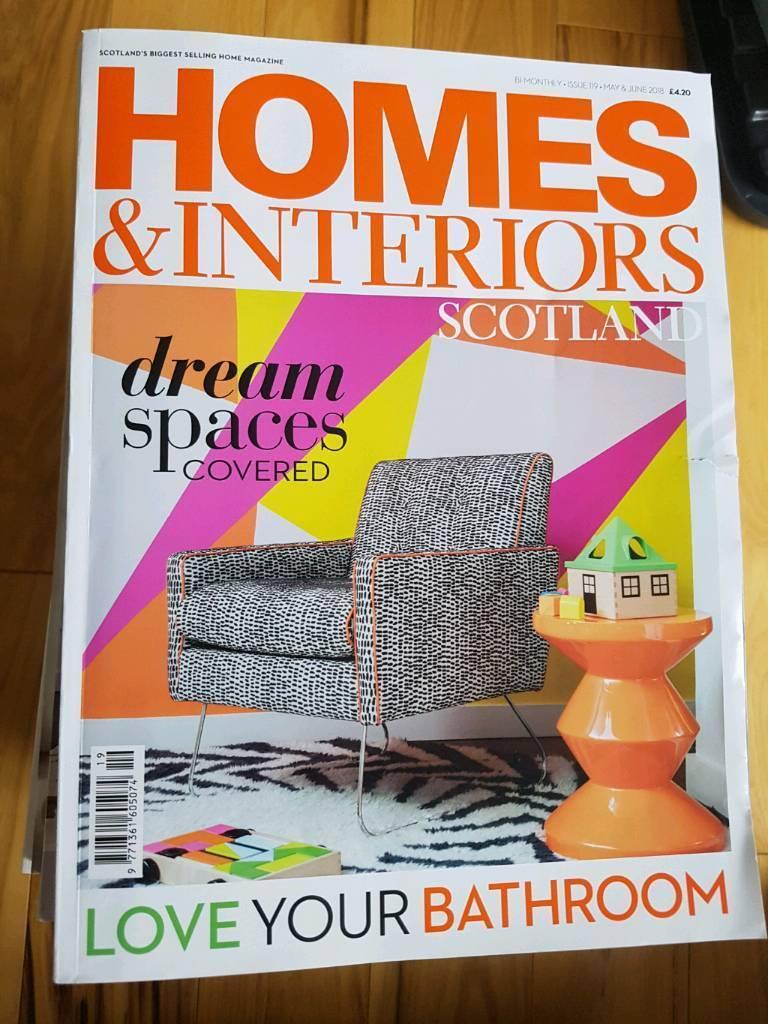 Scottish Homes And Interiors Magazines