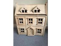 Plan Toys Victorian Dolls House, Furniture U0026 Dolls