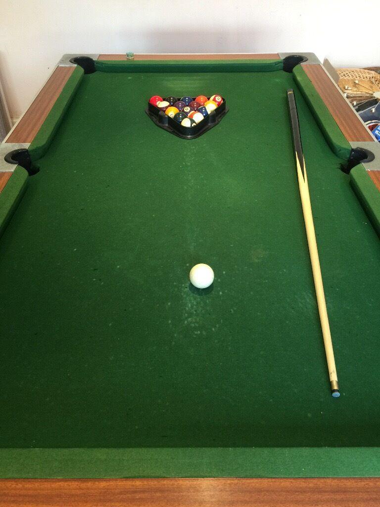 Slate Pool Table, Very Heavy, £50. Image 1 Of 3