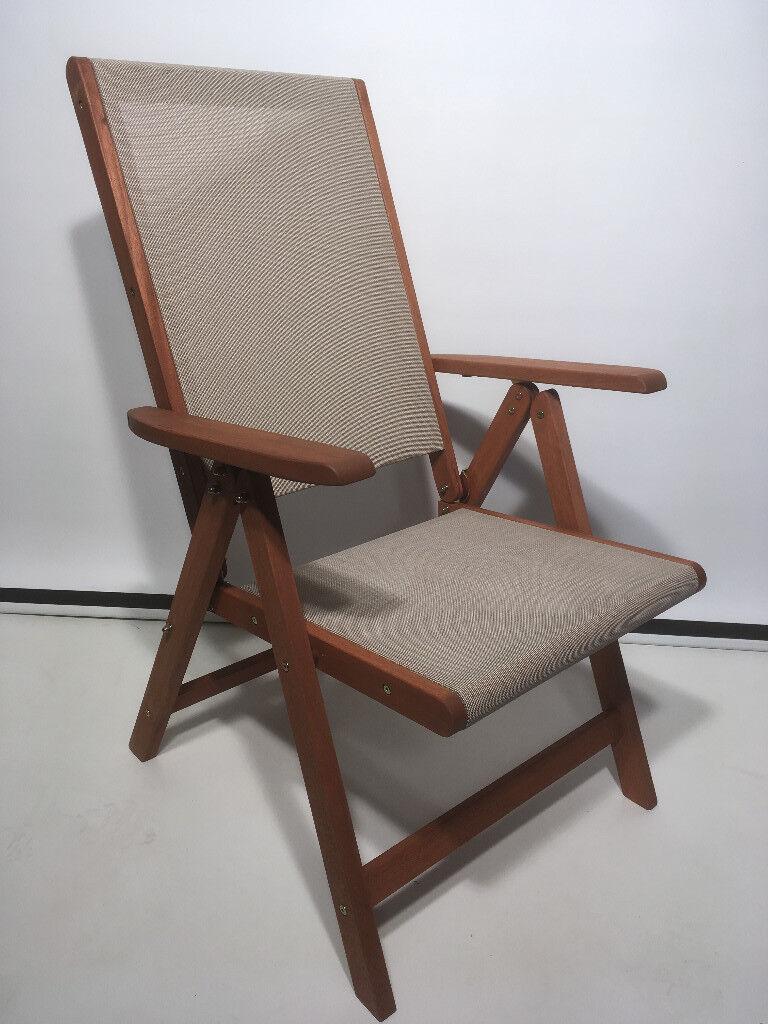 Garden Chair / Wooden Chair / Recliner Chair