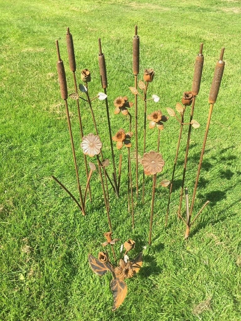 Bespoke Wrought Iron Garden Art