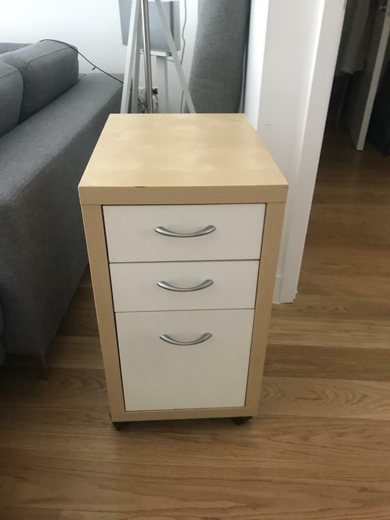 Ikea Office Drawers On Wheels