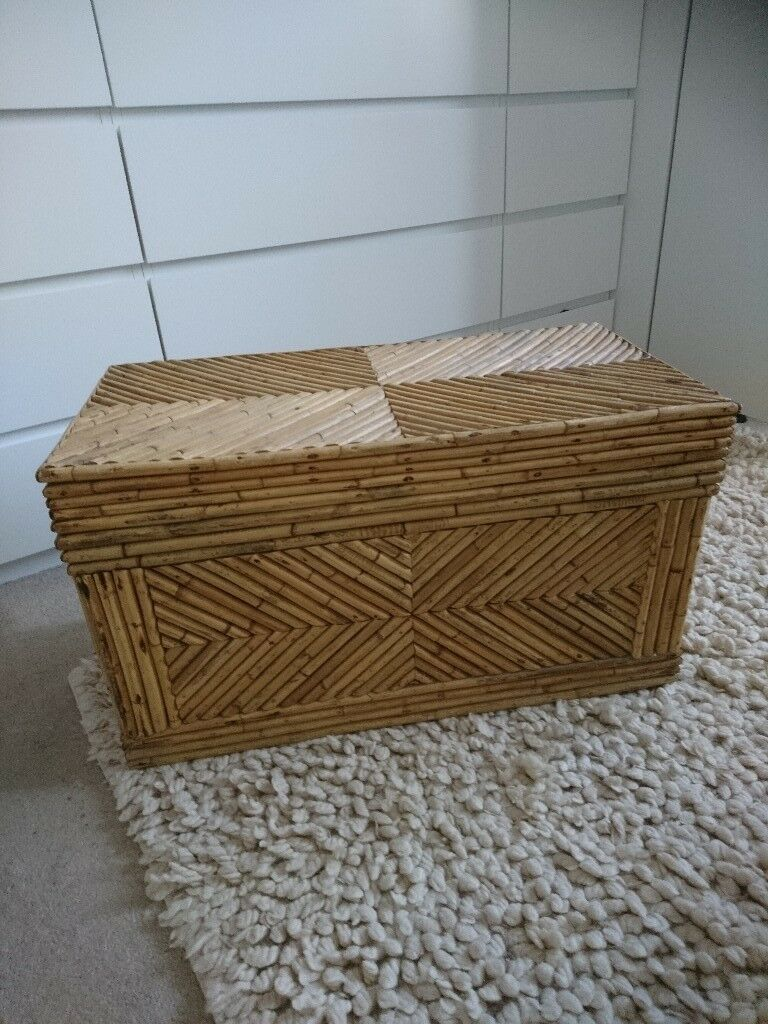 Bamboo Storage Trunk / Toy Box