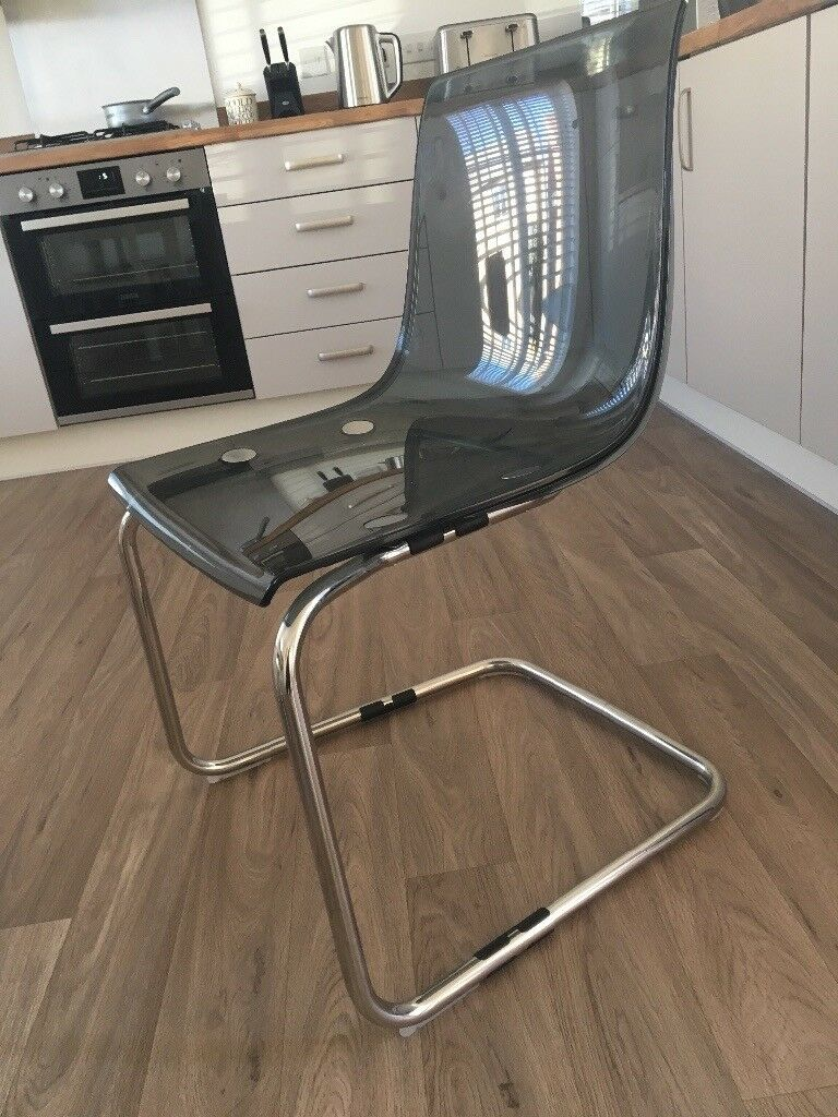 Lovely 2 Grey IKEA TOBIAS Chairs