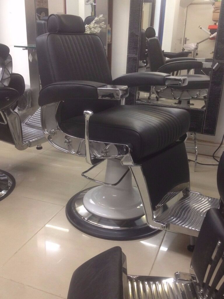 Barber Chair Barber Chairs HEAVY USE completely New Barber Chairs Amb salon chairs salon furniture & Barber Chair Barber Chairs HEAVY USE completely New Barber Chairs ...