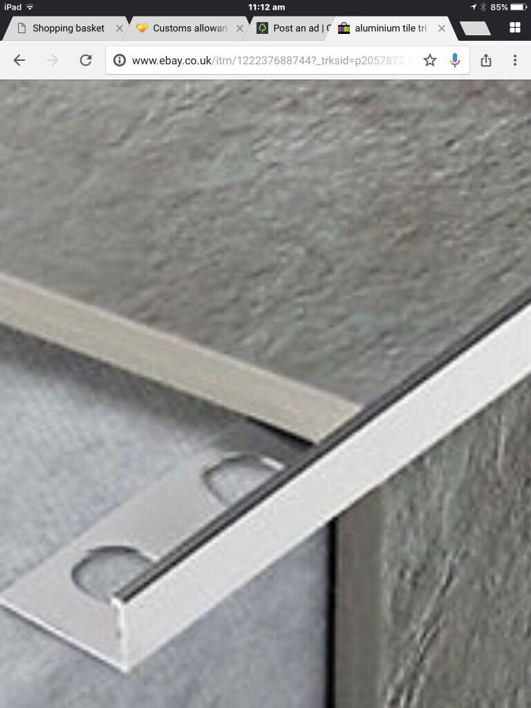 Quadrant tile edging cheap quadrant tiles with quadrant tile edging finest mm l shape silver aluminium tile edging m in length x lengths with quadrant tile edging dailygadgetfo Gallery