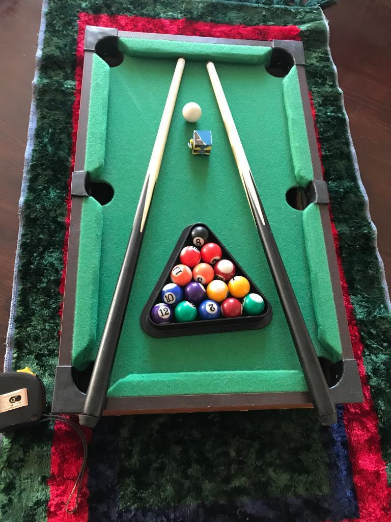 Little Pool Table