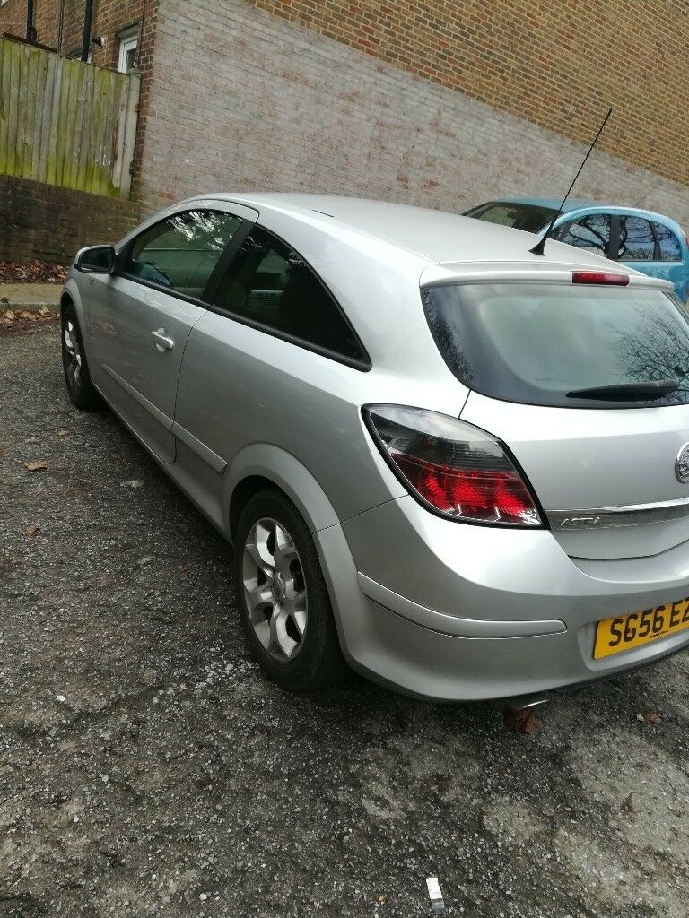 56 Reg New Shape Vauxhall Astra 3 Door Sport Car Clean Nice Car 2 Door Car