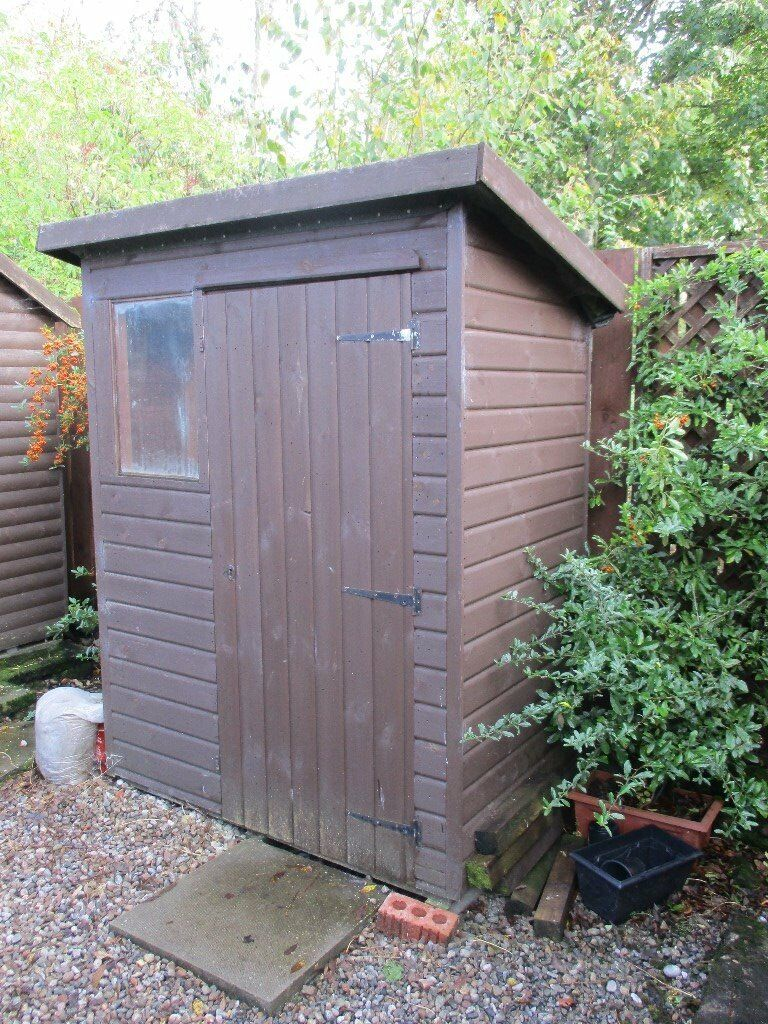 Garden Shed   6x4 Log Lap Heavy Duty Timber With Tu0026G Roof And Floor    Excellent