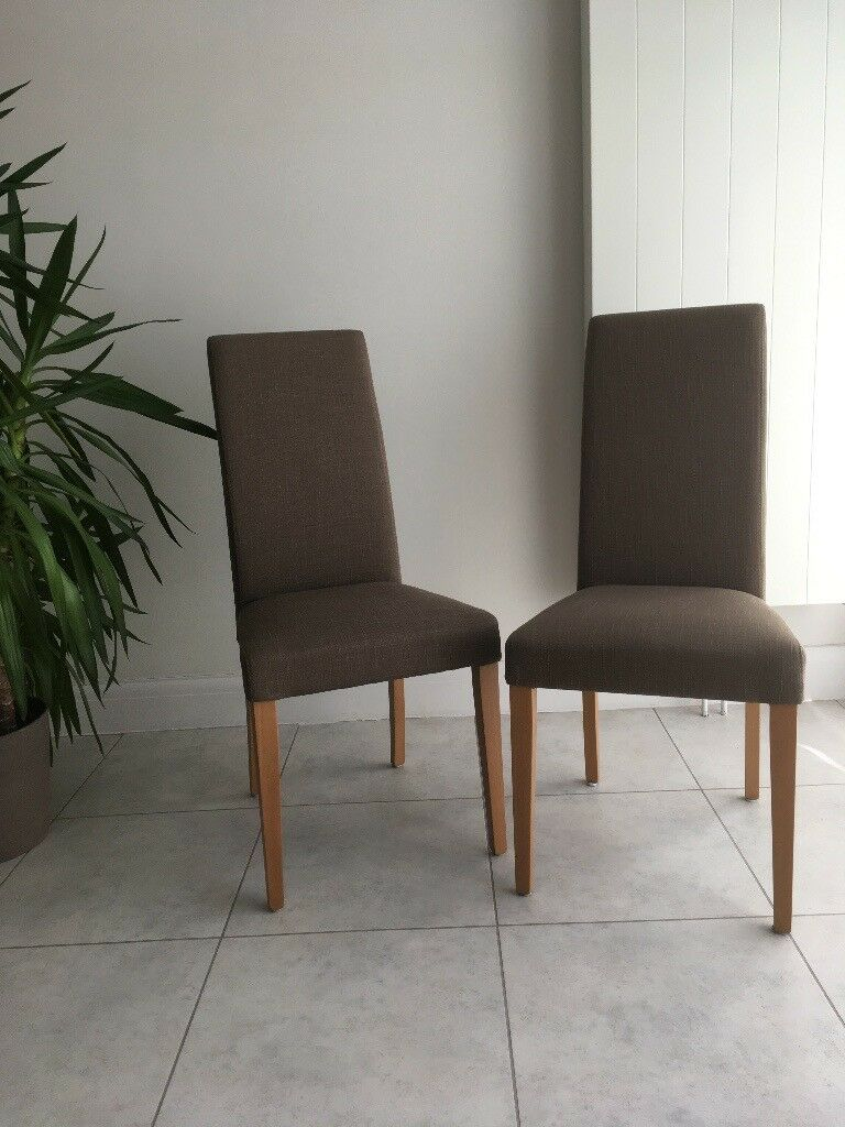 Six John Lewis Lydia Dining Room Chairs