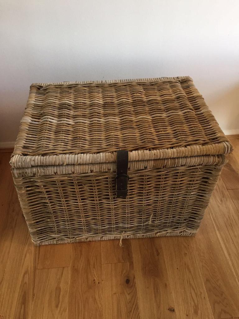 IKEA Large Wicker Storage Box