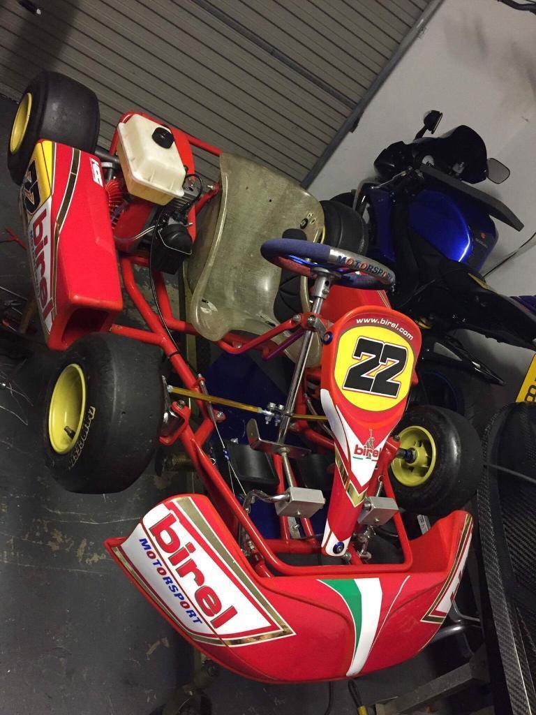 Bambino Kids Go Kart Gokart Race Birel Toni Kart Crg