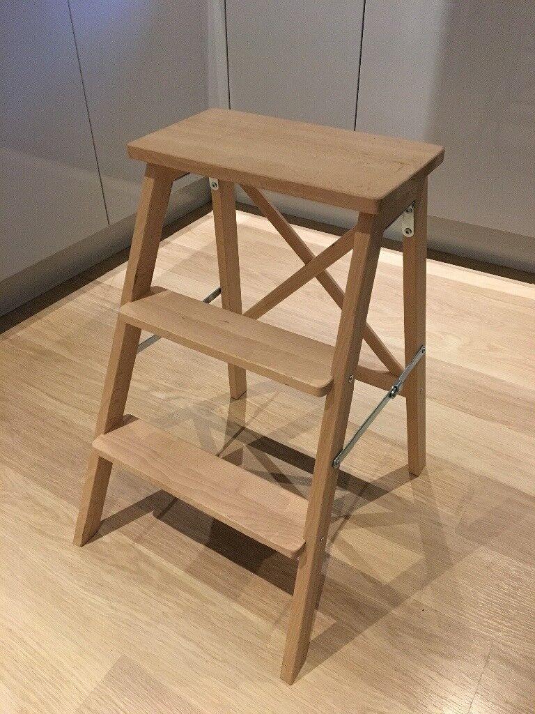 Ikea Bekvam Folding Stool (3 Steps)