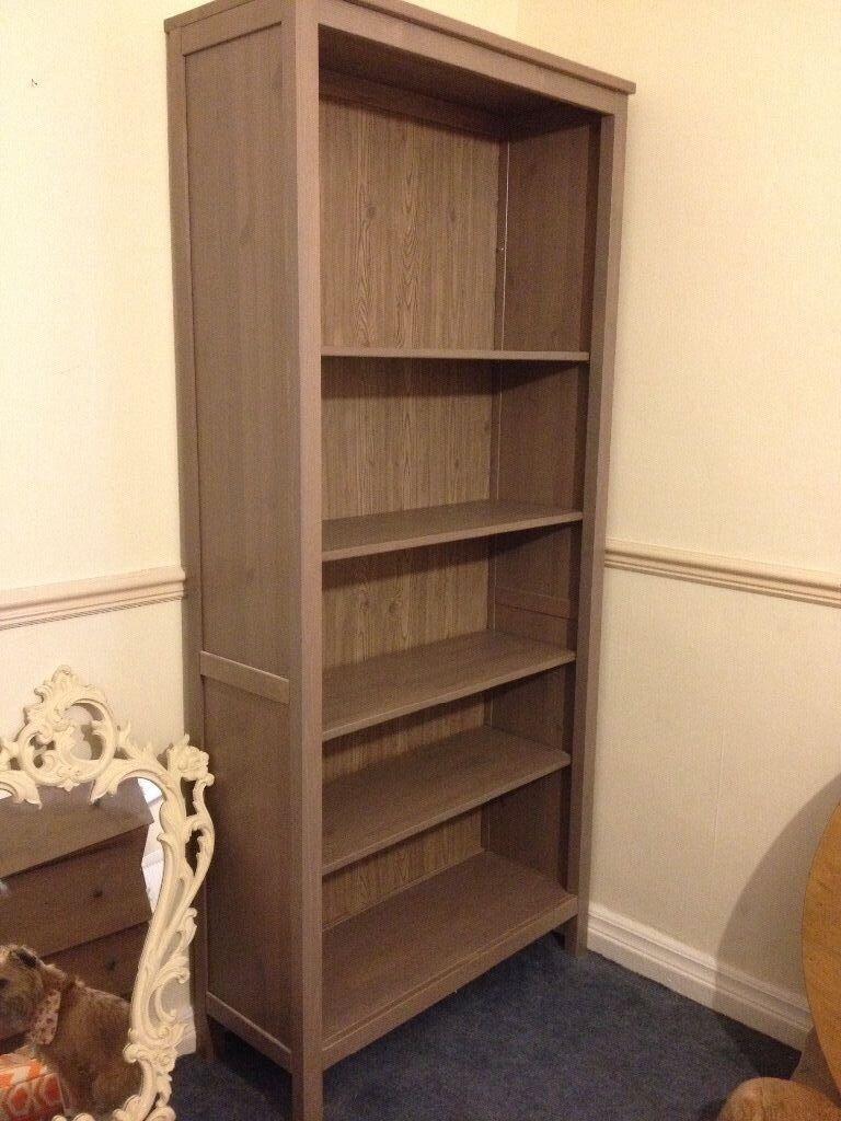 IKEA Hemnes bookcase grey brown discontinued
