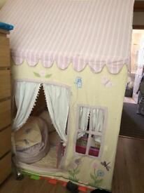 Winn green butterfly cottage house playhouse tent & Postman pat Royal Mail van+ postman pat transformer pat van plane ...