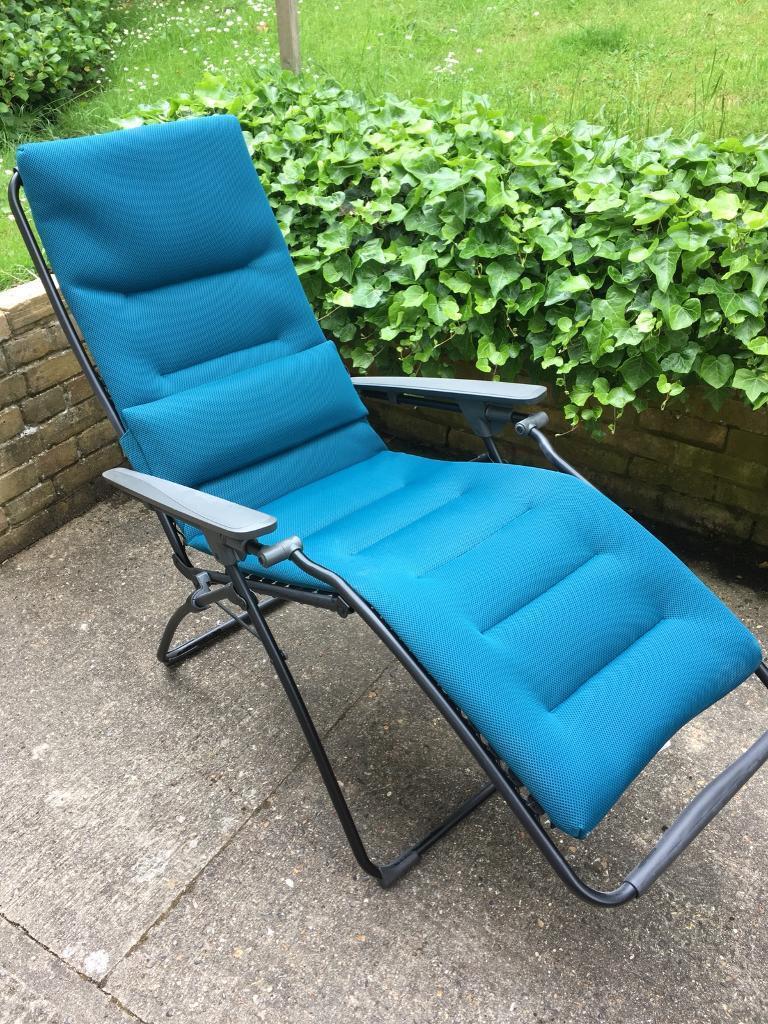 Excellent Lafuma Futura Air Comfort Garden Reclining Chair With Lafuma  Futura