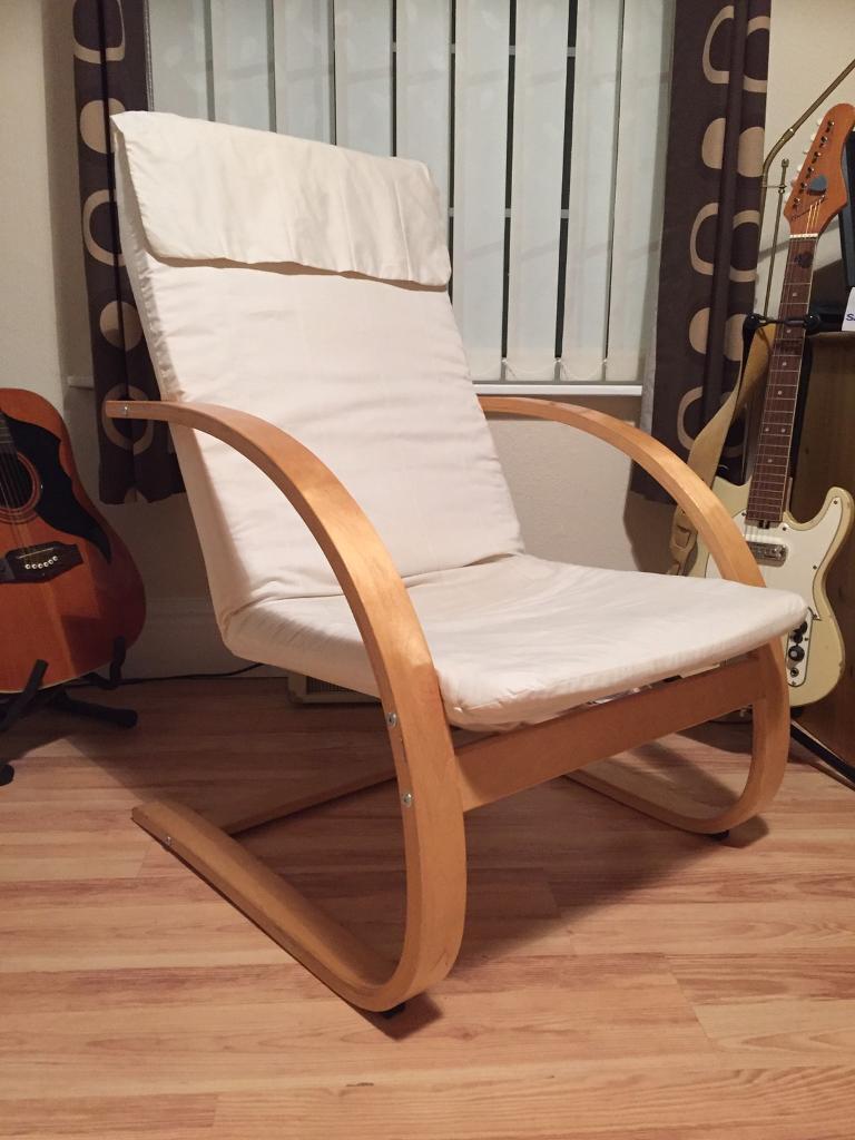 Ikea Poang u0027Styleu0027 Chair Nursing Chair etc & Ikea Poang u0027Styleu0027 Chair Nursing Chair etc | in Nuneaton ...