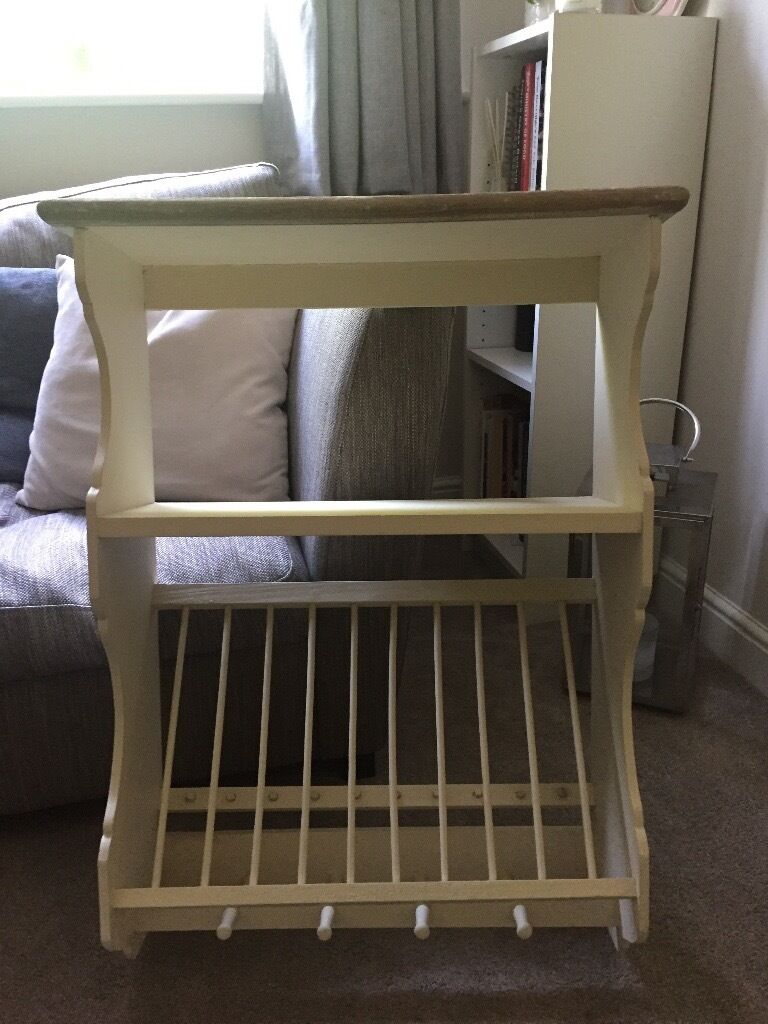Kitchen storage (as new) - shelf/ plate and cup rack- shabby chic & Kitchen storage (as new) - shelf/ plate and cup rack- shabby chic ...