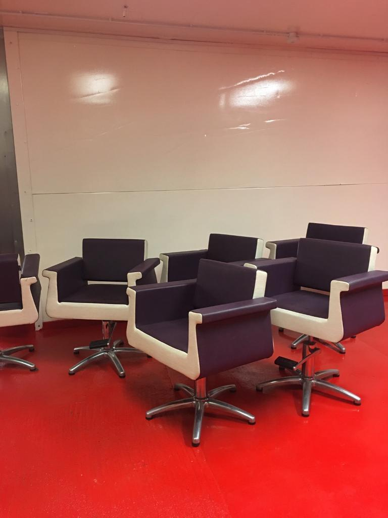 3 X REM Hairdressing Salon Styling Chairs Of