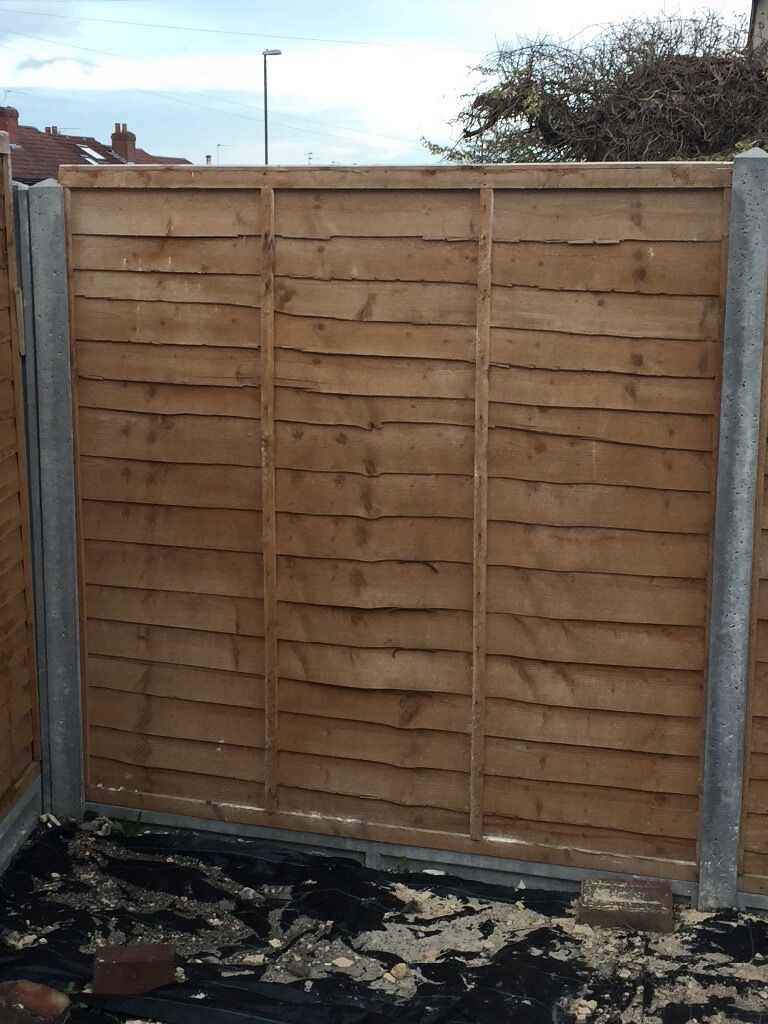 plastic fence panels bq panel bradford with