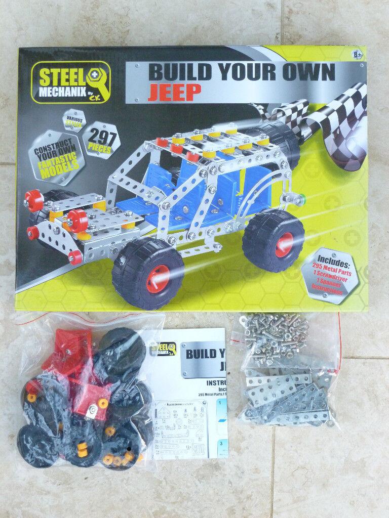 Steel Mechanix. Build Your Own Jeep.