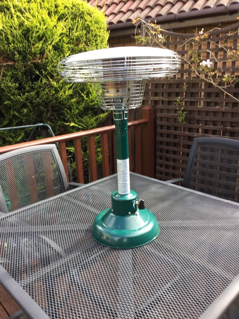 Portable Table TOp Patio Heater Model PH2000/5kg Patio Gas Cylinder