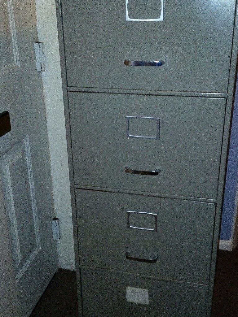 Delicieux Grey Filing Cabinet