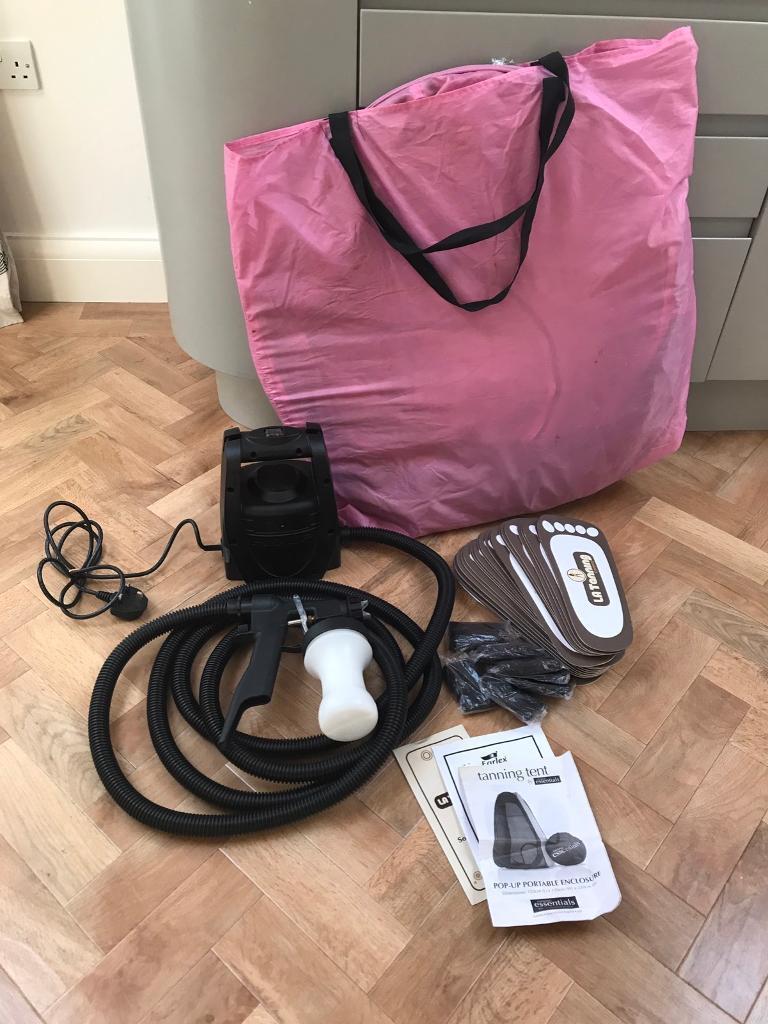 Spray Tanning Machine Tent u0026 Accessories & Spray Tanning Machine Tent u0026 Accessories | in Lowestoft Suffolk ...