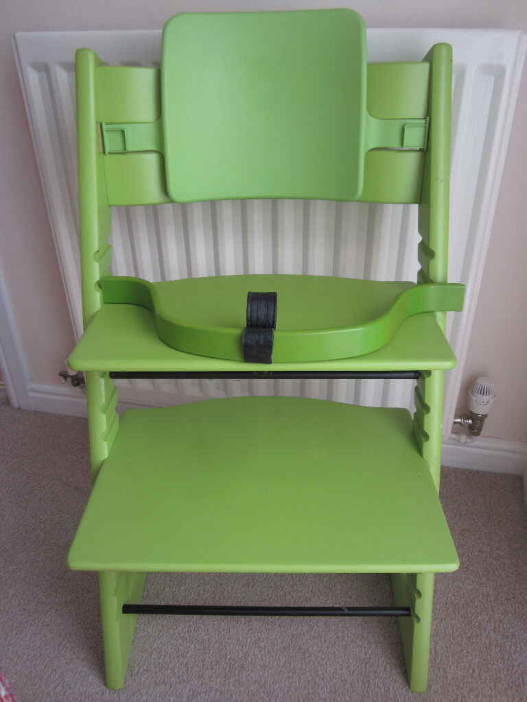 STOKKE Tripp Trapp High Chair   Lime Green