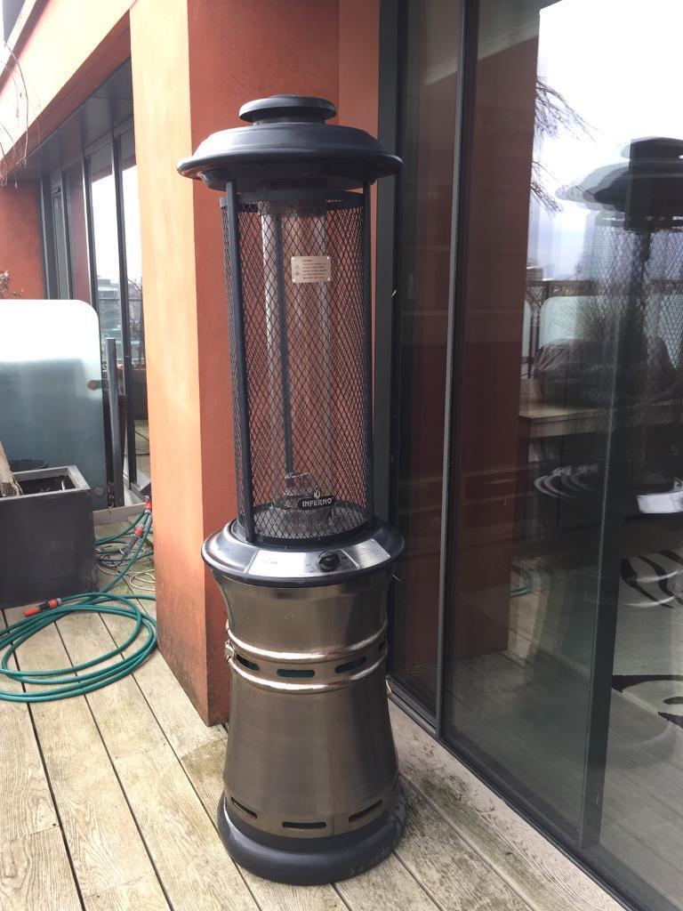 Santorini Inferno Outdoor Patio Heater u0026 Cover & Santorini Inferno Outdoor Patio Heater u0026 Cover | in Hyde Park London ...