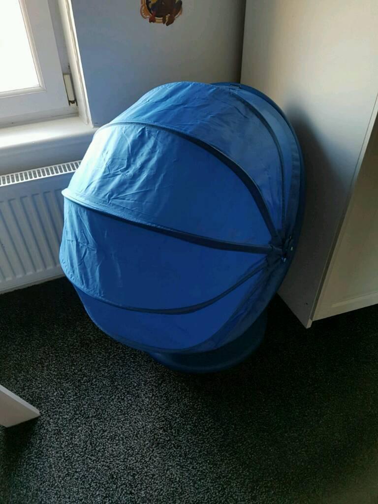 Amazing Blue Ikea Kids Cocoon Swivel Chair